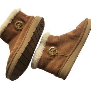 Michael Kors Suede Sheep fur  boots